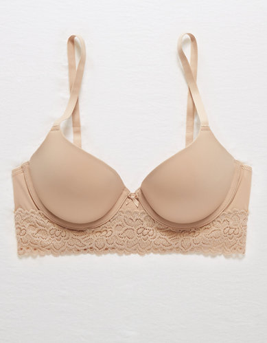 433a2bb4a Aerie BRIDGET DEMI COVERAGE PUSH UP BRA